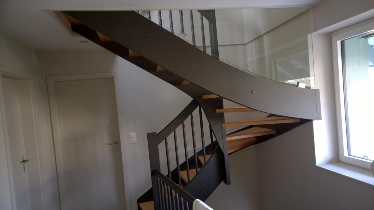 huma holzbau treppen. Black Bedroom Furniture Sets. Home Design Ideas